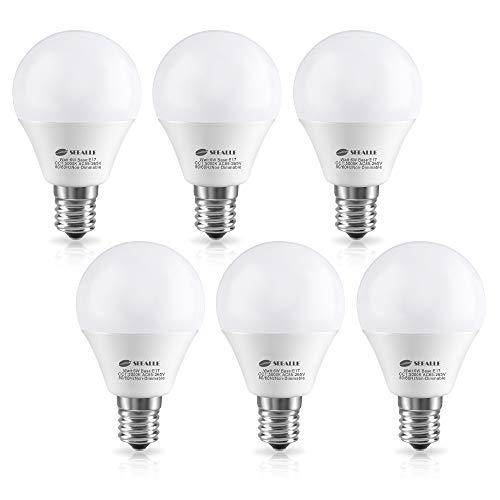 LED電球 E17口金 60W形相当(6W) 電球色(270...