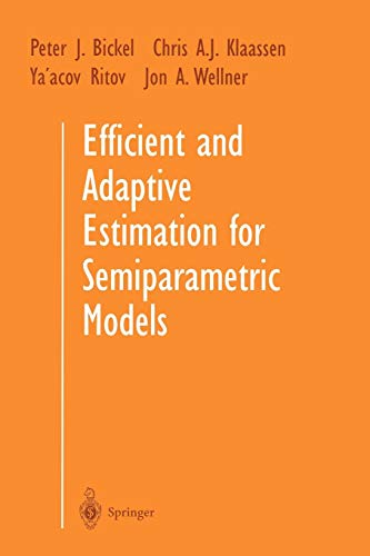 Efficient and Adaptive Estimation for Semiparametric Models (1384)の詳細を見る