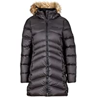 Marmot Montreal Women's Knee-Length Down Puffer Coat, Fill Power