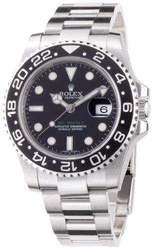 GMTマスター2 ブラック文字盤 SS 腕時計 Ref.116710 メンズ ロレックス