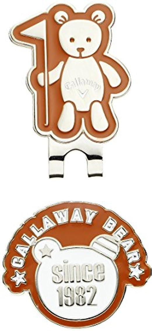 エンディング暖かさ不和キャロウェイゴルフ Callaway Golf ラウンド小物 AC BEAR FLAG マーカー