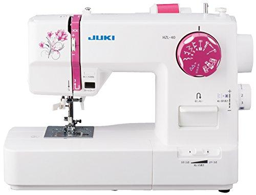 ジューキ(JUKI) 電子ミシン 取扱説明DVD付き HZL-40