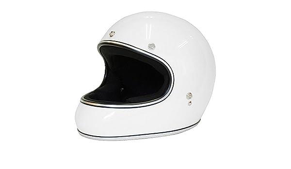 6878a29c White, One Size for Most 3-Snap Style Helmets Biltwell MV-WHT-00-SD 3-Snap Moto  Visor