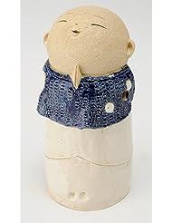 お地蔵様 香炉シリーズ 前掛 お地蔵様 香炉 5.3寸(大) [H16cm] HANDMADE プレゼント ギフト 和食器 かわいい インテリア