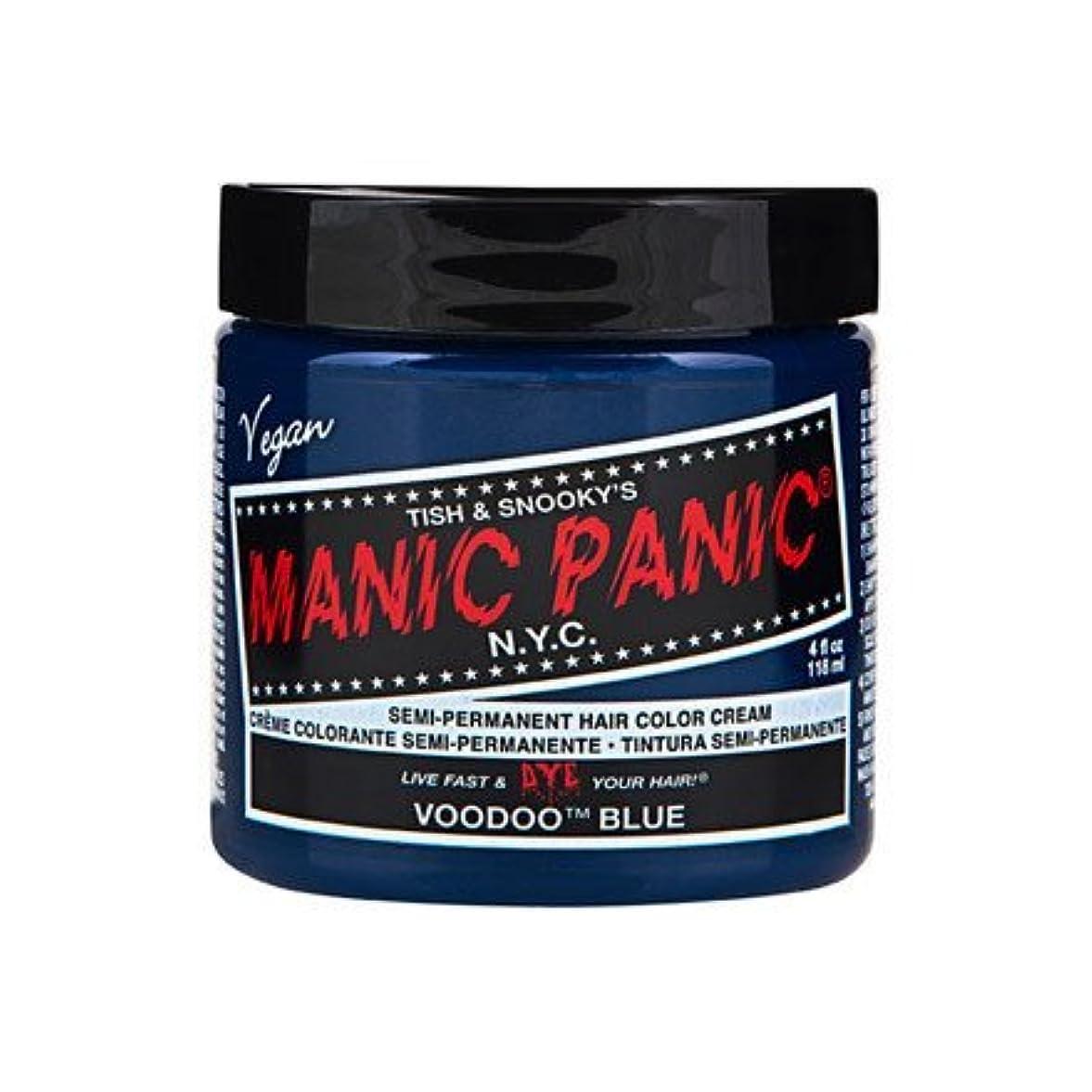 発生する進行中マットレスMANIC PANIC マニックパニック Voodoo Blue ブードゥーブルー 118ml