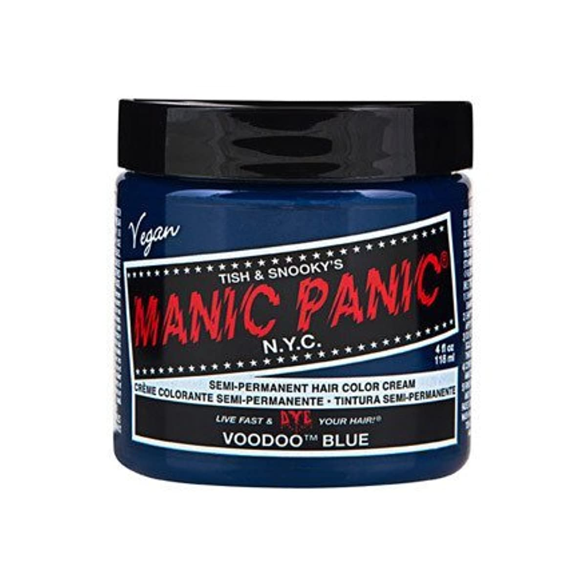 虫を数える劇場信者MANIC PANIC マニックパニック Voodoo Blue ブードゥーブルー 118ml