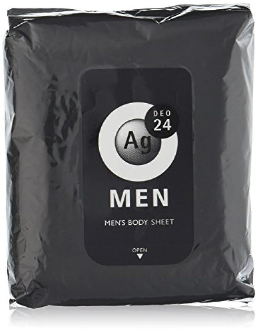 ペダル環境鰐エージーデオ24 メンズ ボディーシート 無香性 30枚