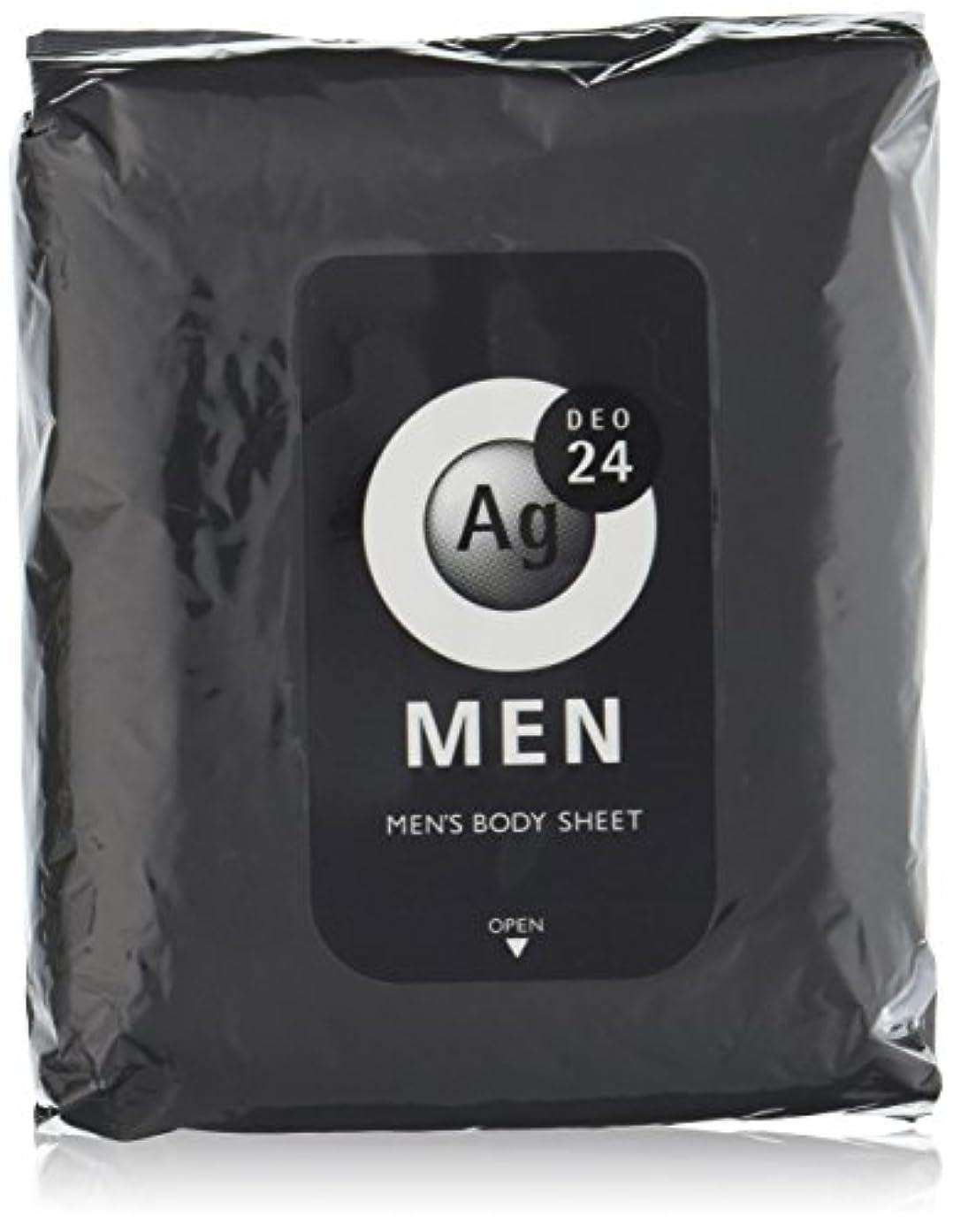 エージーデオ24 メンズ ボディーシート 無香性 30枚