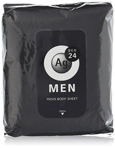 エージーデオ24 メンズボディーシート 無香性 30枚