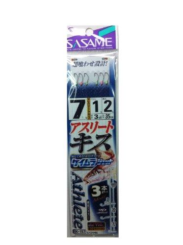 ささめ針(SASAME) K-157 アスリートキス3本鈎ケイムラジェット 7