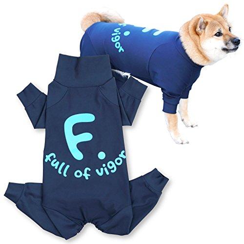 犬猫の服 full of vigor ドッグプレイFロゴプリ...