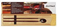(5242) - Da Vinci 5242 Oil Painting Deluxe Wood Box 5 Brush Set with Wood Mixing Palette
