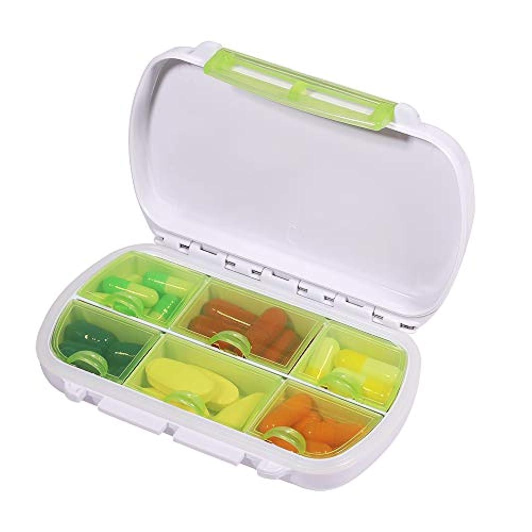 ハッピー流用するコンピューターゲームをプレイするOpret 薬ケース ピルケース 小物入れ 携帯用 習慣薬箱 サプリメントケース コンパクト 防水 小型