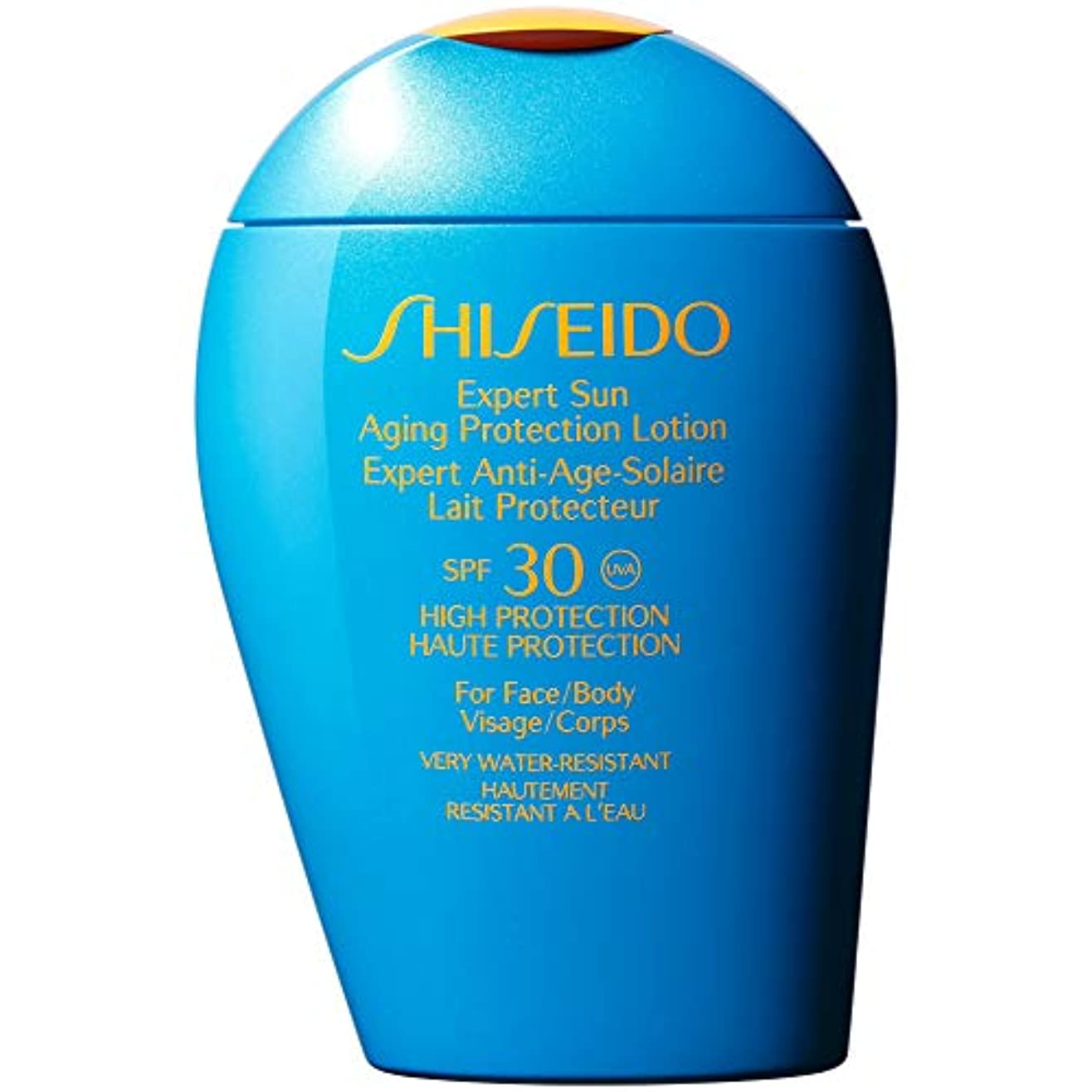 雇用者に対応可動[Shiseido] 資生堂専門家の日老化防止ローション100ミリリットルSpf30 - Shiseido Expert Sun Aging Protection Lotion 100ml Spf30 [並行輸入品]