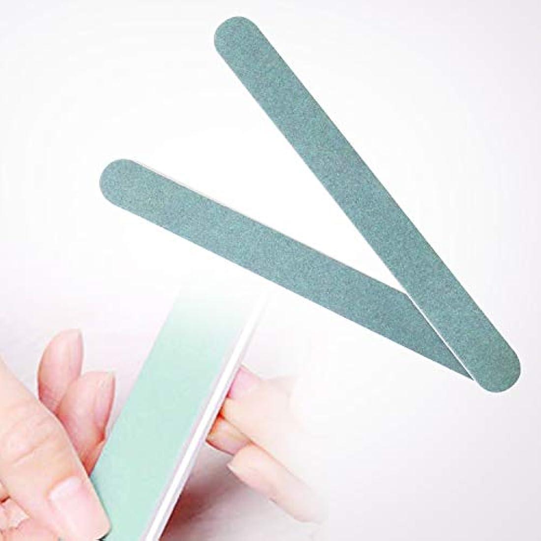 木製課税隠されたurlifeエリコネイル エメリーボード パーフェクトシャイン ネイルをつやつやにするスポンジネイルファイル 両面使えるマニキュアDIYのソフトファイル 爪磨き 爪に優しい爪やすり 2本入