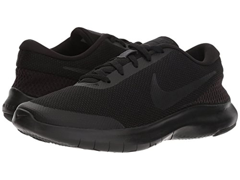 [NIKE(ナイキ)] レディーステニスシューズ?スニーカー?靴 Flex Experience RN 7 Black/Black/Anthracite 7 (24cm) B - Medium