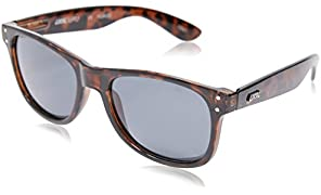 Local Supply Men's EVERYDAY Polarized Sunglasses - Dark Grey Tint Lens, Polished Tortoiseshell Frames