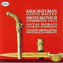 ショスタコーヴィチ:交響曲第5番, ハチャトゥリアン:組曲「ガイーヌ」より
