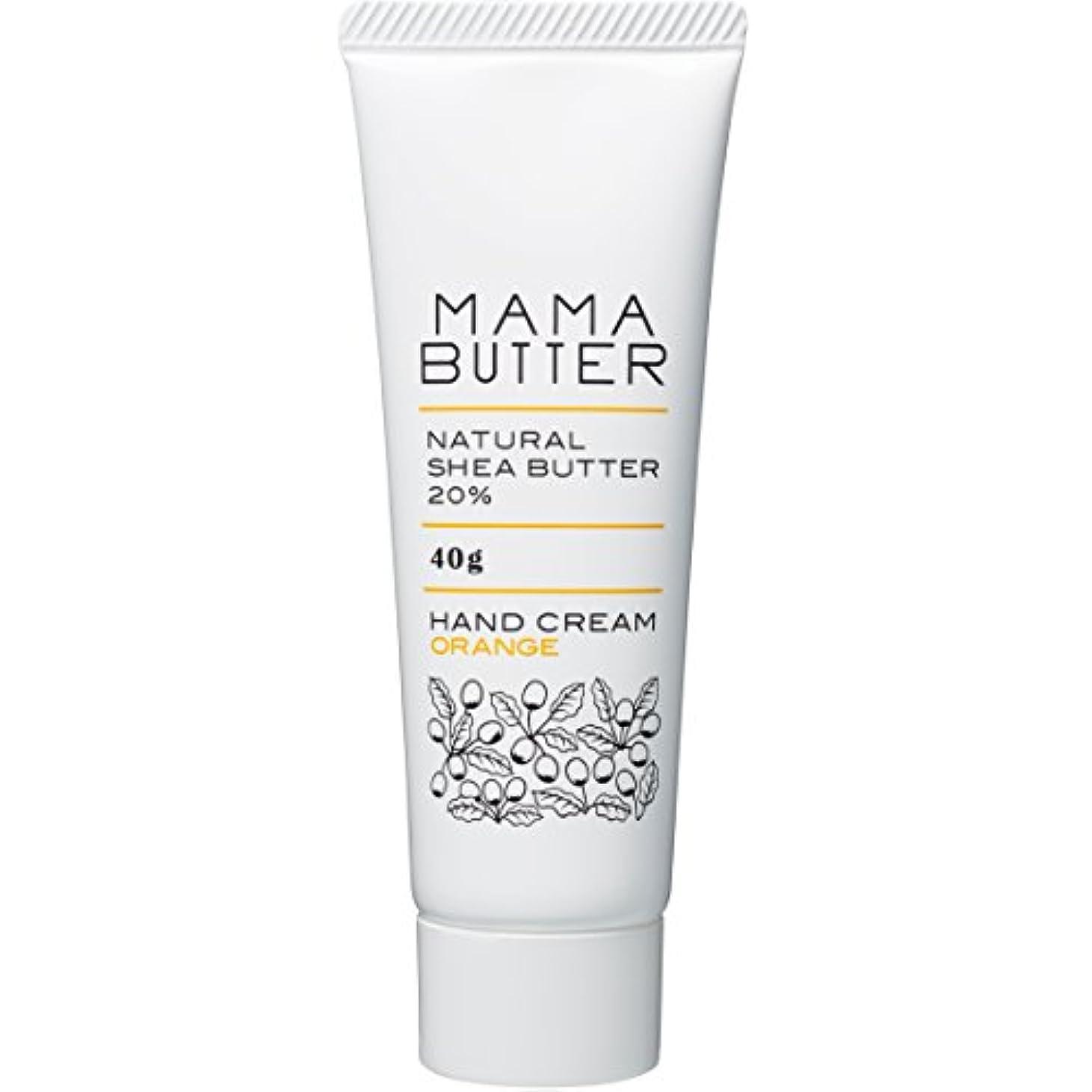 事業内容現代強打ママバター ハンドクリーム オレンジ 40g