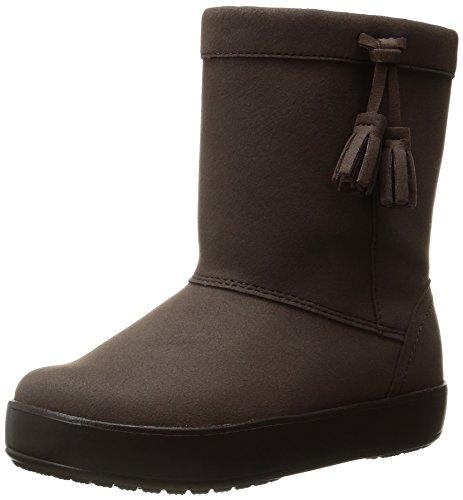 [クロックス] ロッジポイント ブーツ キッズ  203751 Espresso C7(15.0cm)