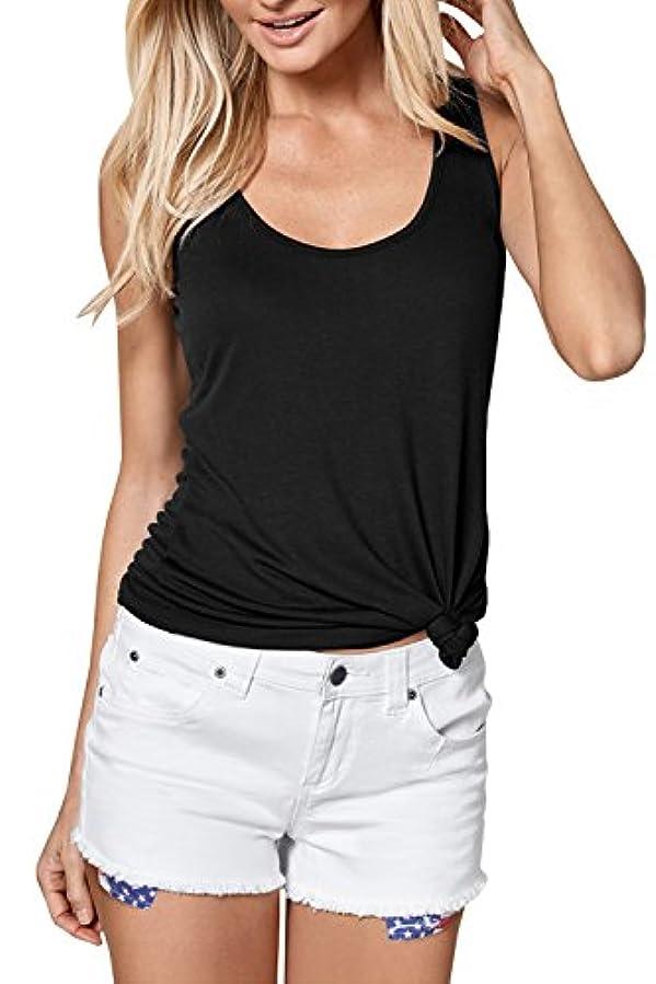 放棄縞模様の頼むVOKY SHIRT レディース US サイズ: Medium カラー: ブラック