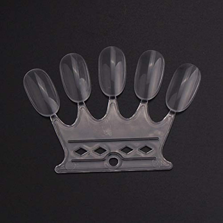 ドレインピアノバンケットOU-Kunmlef 満足している10 pcsセット偽の爪のヒントカラーカードのネイルアートの練習表示ツール(None 10)