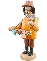kuhnert(クーネルト) パイプ人形香炉 120×200mm 「菓子売り」