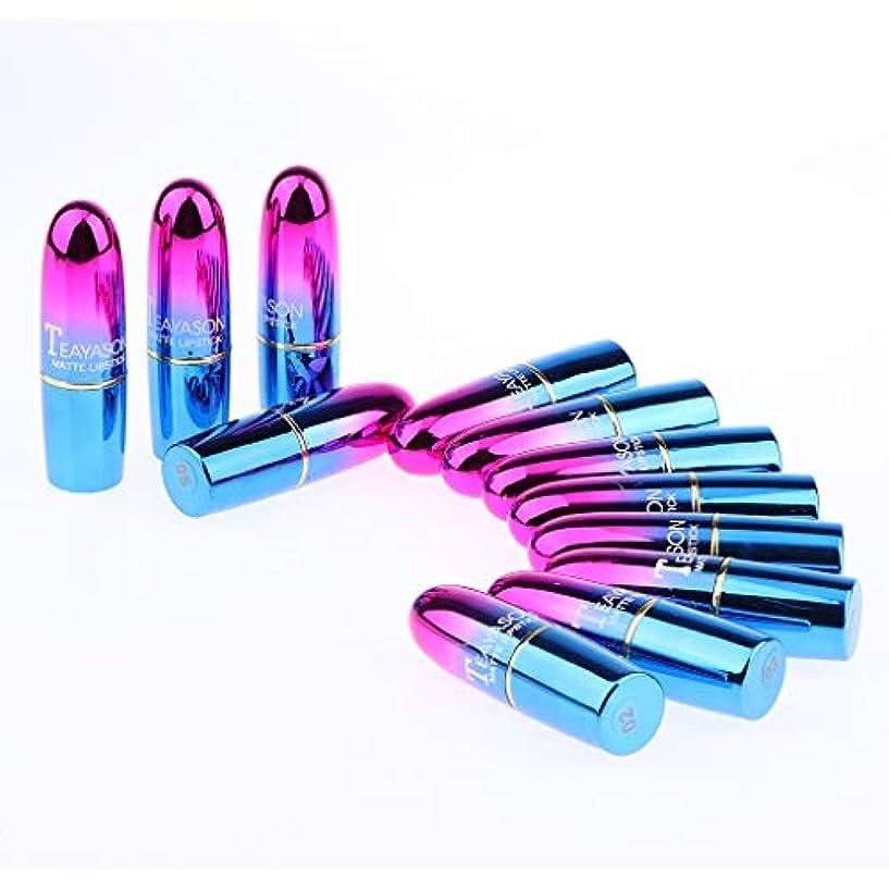 代数マイク予想する12色 口紅 唇メイク お化粧 防水 化粧品 口紅セット