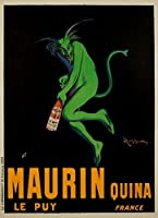 Maurin Quinaヴィンテージポスター(アーティスト: Leonetto Cappiello )フランスC。1906年 12 x 18 Art Print LANT-63906-12x18