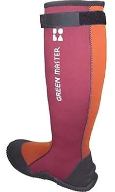 [アトム] ATOM Professional Boots グリーンマスター atom2620 (LL【27.5cm~29.0cm】, エンジ)