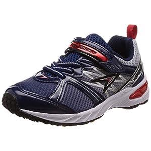 [シュンソク] 運動靴 通学履き 瞬足 大型スパイク 軽量 V8 15~23cm キッズ 男の子 ネイビー 17.5 cm 2.5E