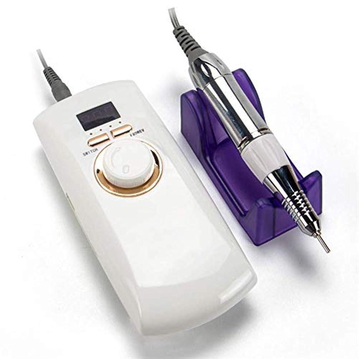 乳密フィードマニキュアツールポータブルネイルポリッシュマシン30000 rpm充電式電気機械ペディキュアアクリル電気ネイルアートドリル機