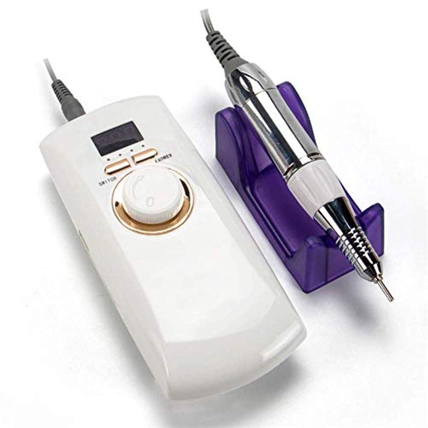 影スクラブ白菜マニキュアツールポータブルネイルポリッシュマシン30000 rpm充電式電気機械ペディキュアアクリル電気ネイルアートドリル機