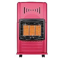 ガスヒーター省エネスピードヒーター家庭用暖房ストーブ家庭用ローラー付き屋外、セラミックヒーター、3つの加熱設定