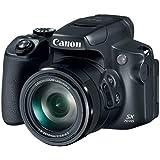 キャノン Powershot SX70 20.3MP デジタルカメラ 65倍光学ズームレンズ 4K ビデオ 3インチ LCDチルトスクリーン(ブラック)