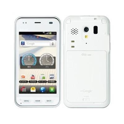 au MIRACH IS11PT クリアホワイト 携帯電話 白ロム パンテック