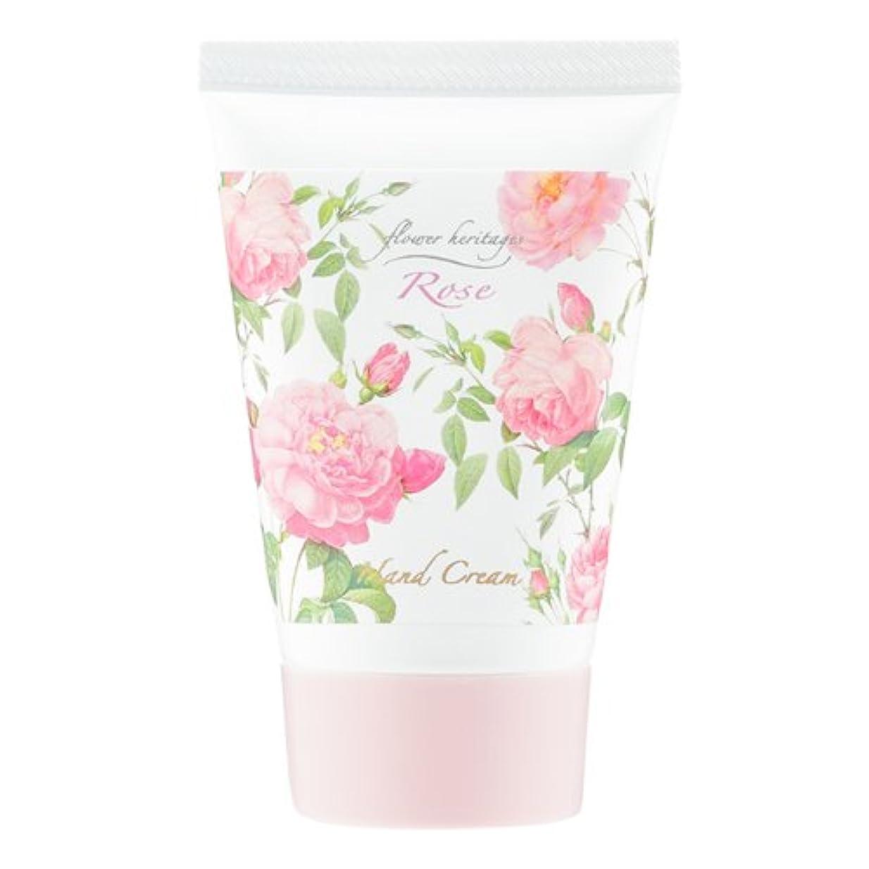 エトナ山マングルリーフレットネイチャータッチ (Nature Touch) Flower Heritage ハンドクリーム40g/ローズ