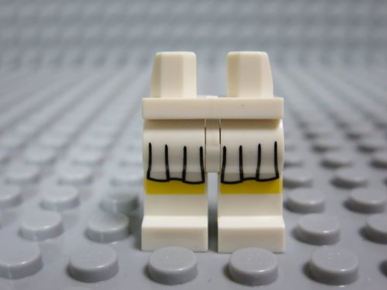 レゴ ミニフィグ 【レッグ 】 White_c00pb084
