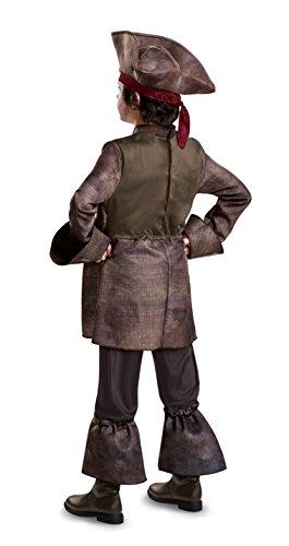 ジャックスパロウ パイレーツ・オブ・カリビアン 衣装、コスチューム 子供男性用 POTC 5 CAPT JACK DLX CHILD