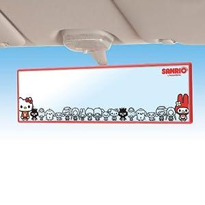 セイワ(SEIWA) 車用 サンリオキャラクターズ ルームミラー KT411