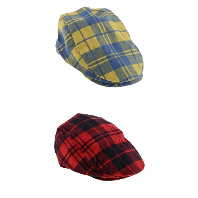 B Blesiya 子供 ベレー帽 帽子 キャップ アウトドア ハンチング フラットキャップユニセックス
