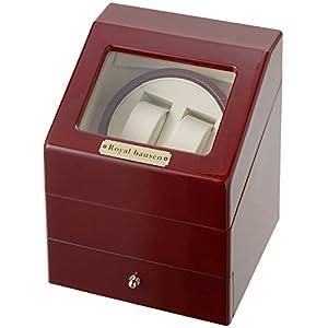 [サンブランド]SUNBRAND ワインダーワインディングマシーン 2本巻 時計収納(3本収納) SR073RD