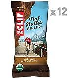Clif Bar NUT BUTTER FILLED BAR Chocolate Hazelnut Butter (Box of 12), 600 g