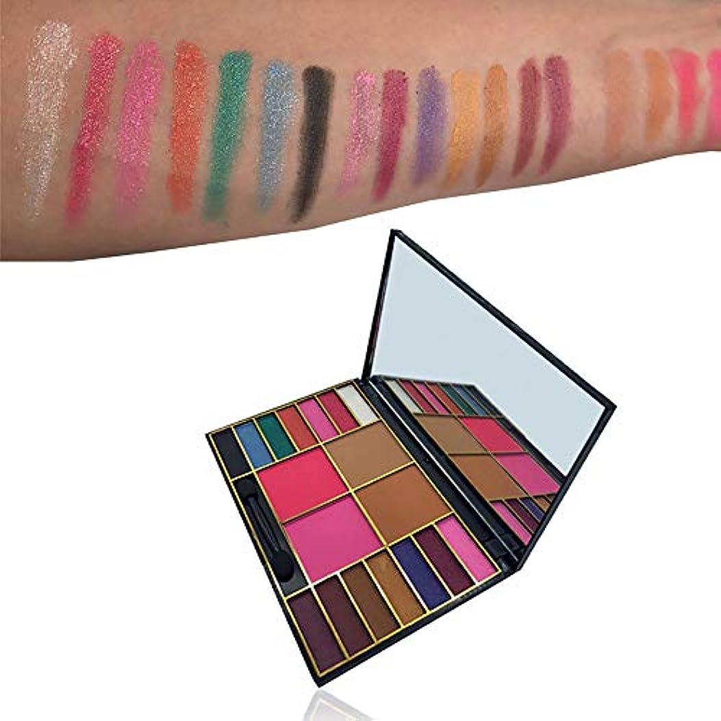 欲求不満大使館エンドテーブル化粧品メイクアップシマーマット18色アイシャドーパレットソンブラ