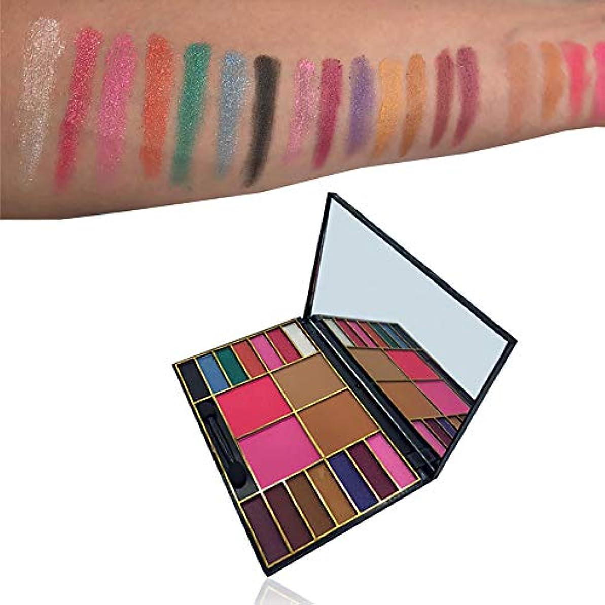 系譜証書ピジン化粧品メイクアップシマーマット18色アイシャドーパレットソンブラ
