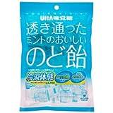 UHA 味覚糖 透き通ったミントのおいしいのど飴 92g