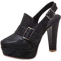 TAOFFEN Women Fashion Slingback Court Shoes High Heel