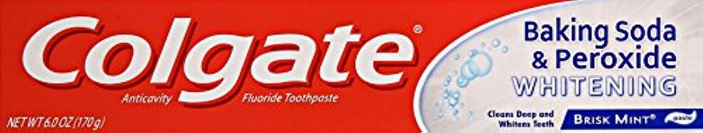 原子炉憂鬱な無傷Colgate 重曹と過酸化物ホワイトニング歯磨き、6オンス