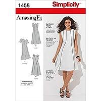 SIMPLICITY MISSES DRESSES-10-12-14-16-18 (並行輸入品)