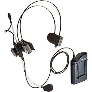 Panasonic 800 MHz帯PLLヘッドセット形ワイヤレスマイクロホン WX-4360B